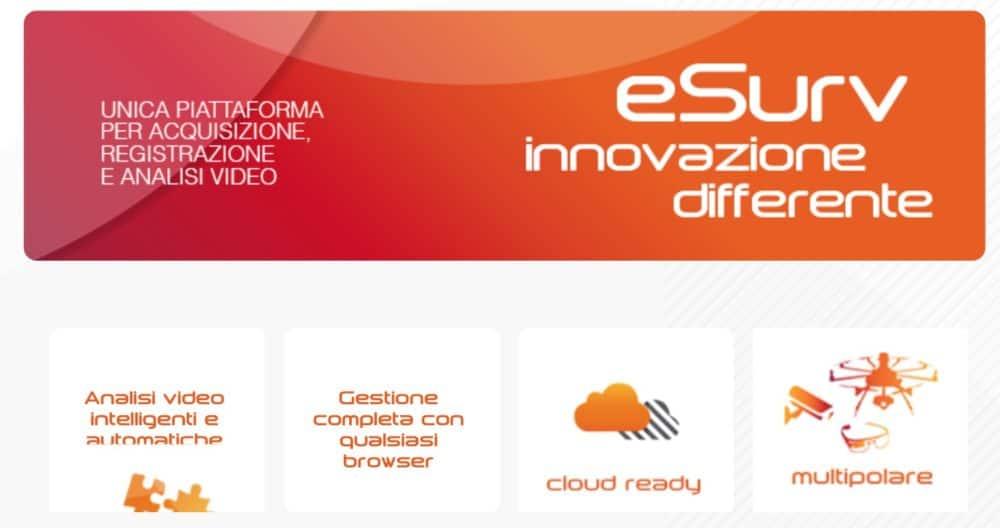 Web společnosti eSurv.it dostupný už pouze na Webarchivu