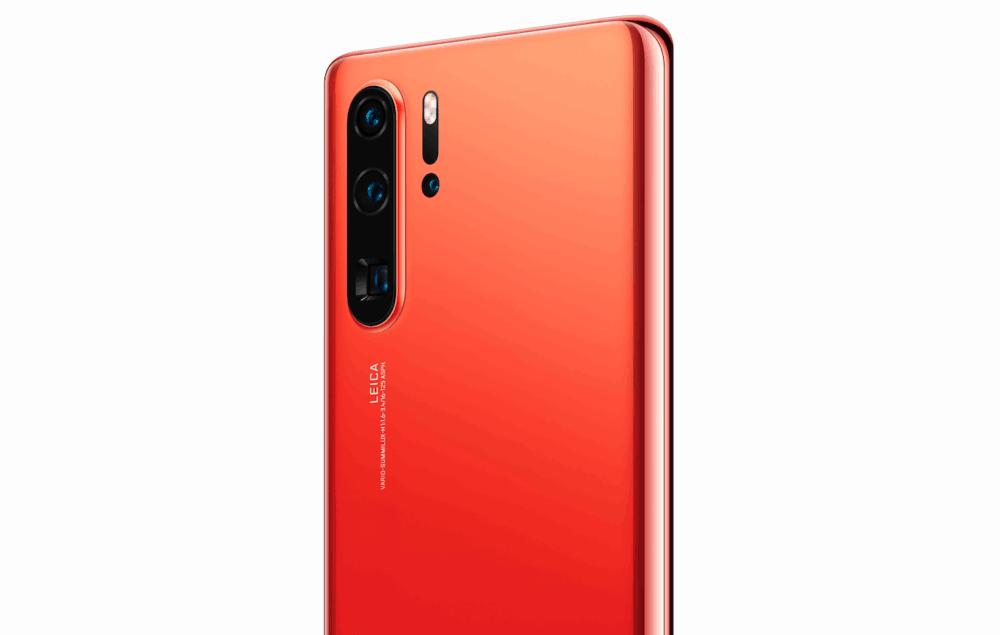 Oranžová Amber Sunrise je nová barva modelů Huawei P30 a P30 Pro