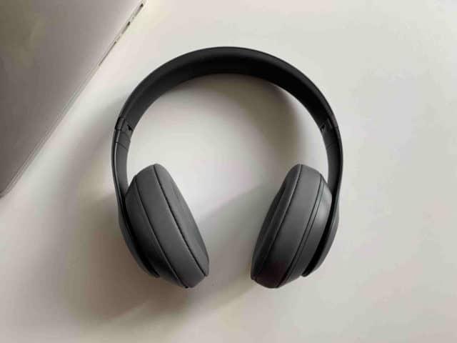 Beats Studio3 ze předu