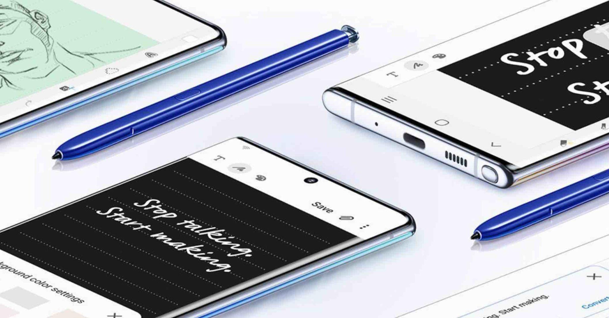 Co je pod kapotou Samsungu Galaxy Note10? Podívejte se na specifikaci