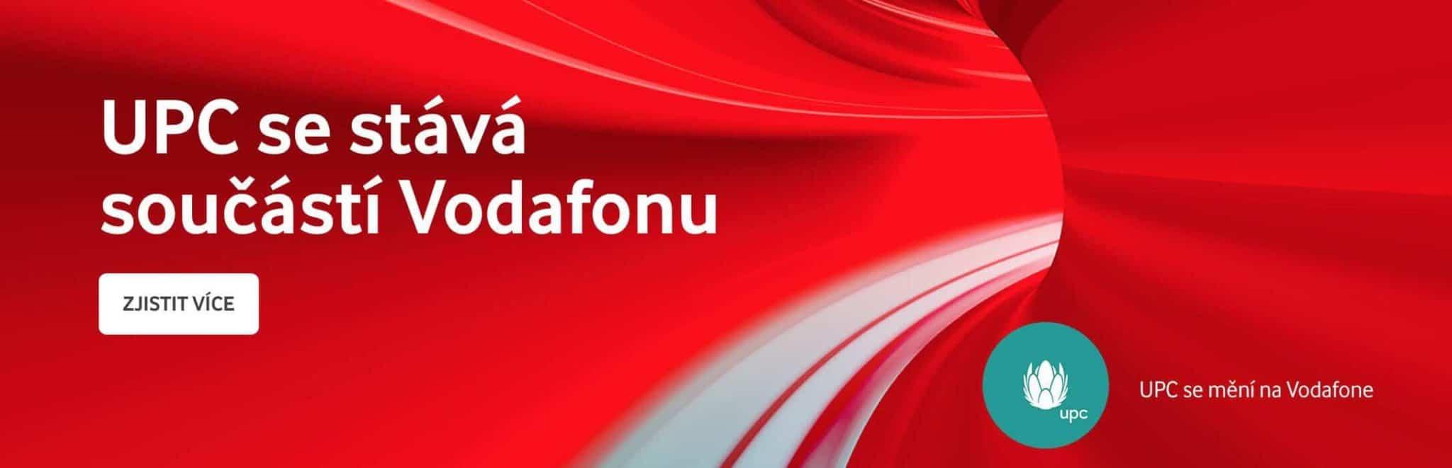 UPC se stává součástí Vodafonu. Co se mění a kdy přijde společná nabídka?