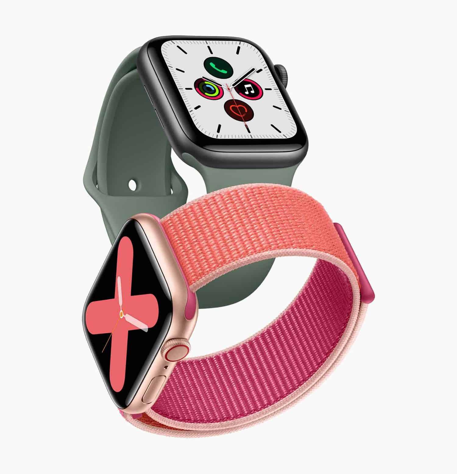Apple Watch Series 5. Keramiku nově doplňuje tělo z titanu