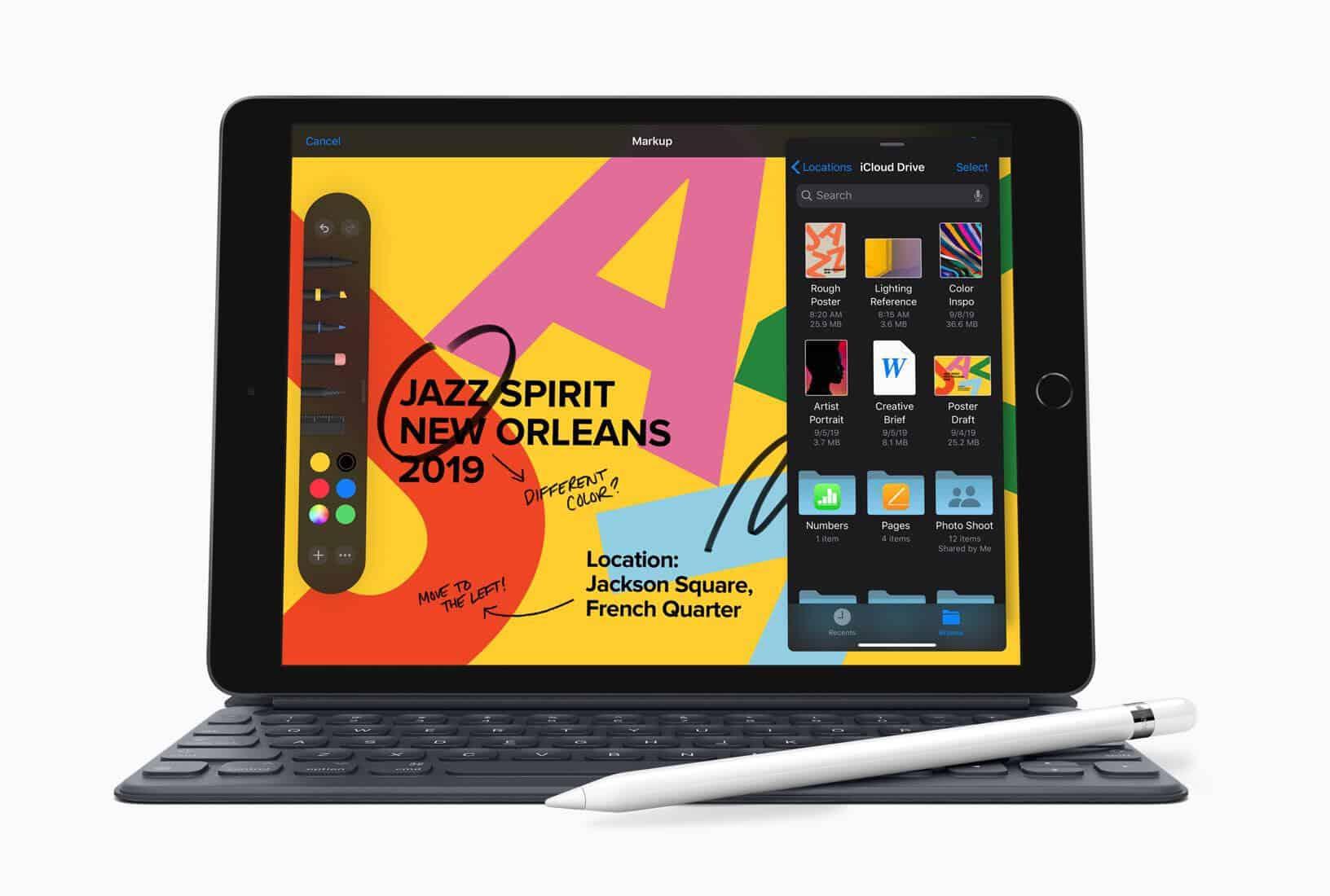 Nový iPad (2019) nabízí Retina displej a možnost malování s Apple Pencil