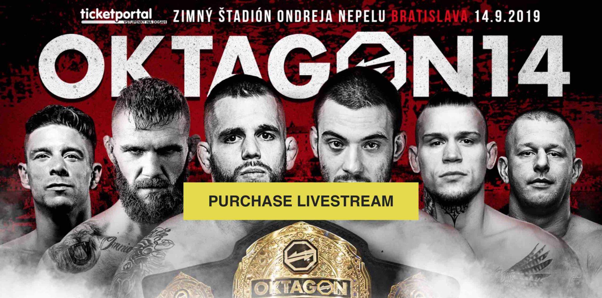 Oktagon 14 bude opět online. Krev, pot a slzy v podání českého UFC
