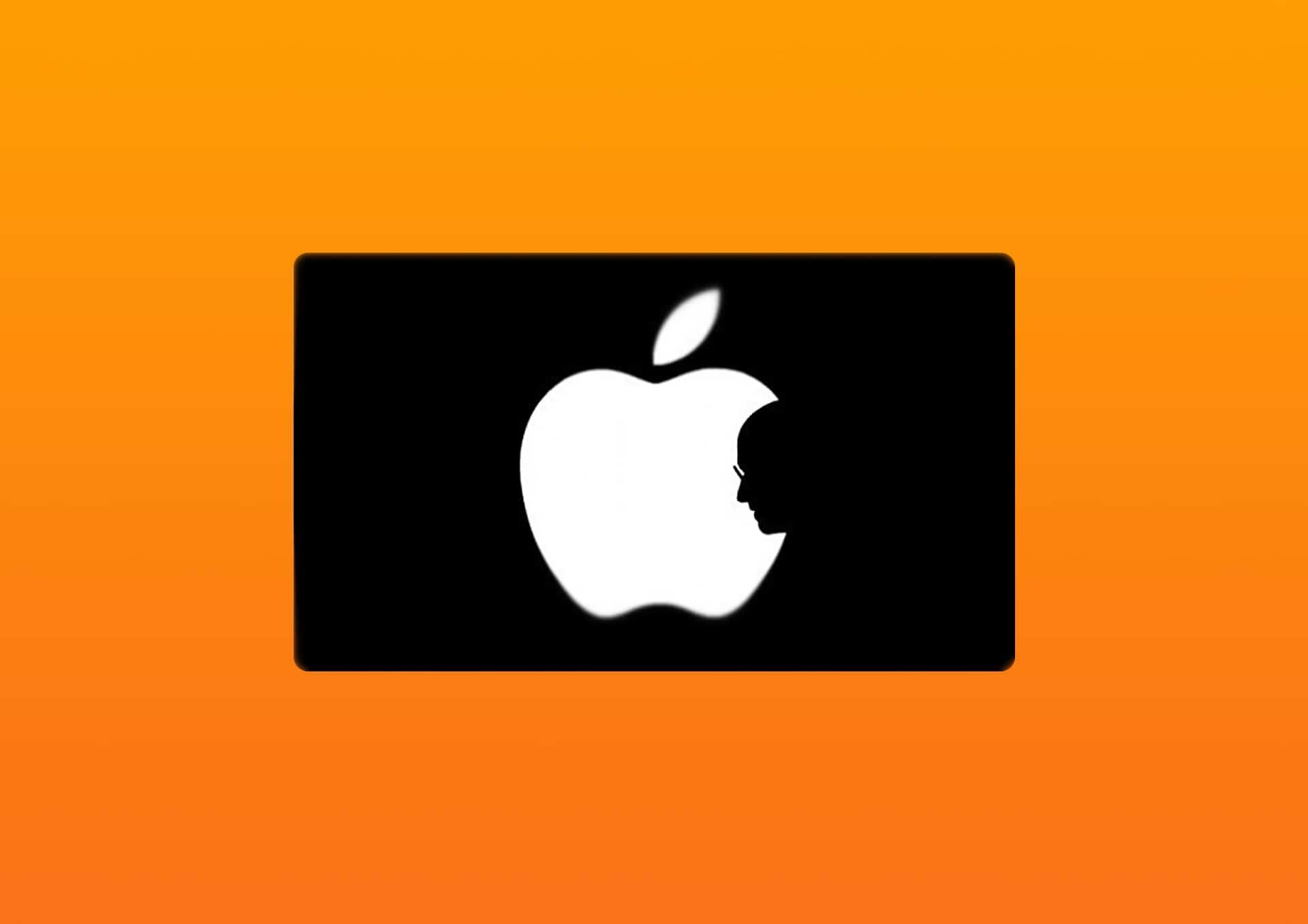 apple logo nove