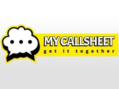 My Callsheet